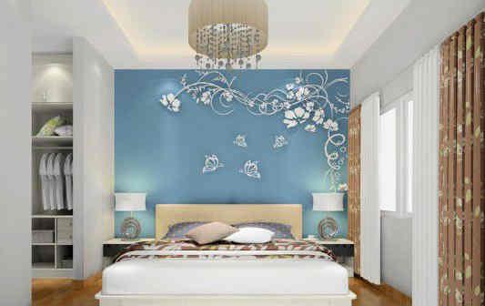 背景墙 房间 家居 起居室 设计 卧室 卧室装修 现代 装修 533_336