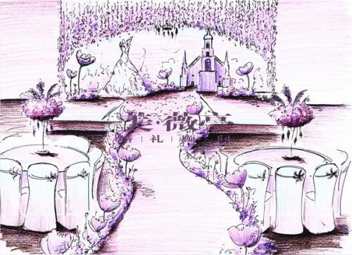彩铅,马克笔上色技巧        室外综合上色场景练习           手绘
