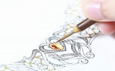 北京大曾珠宝设计手绘培训班